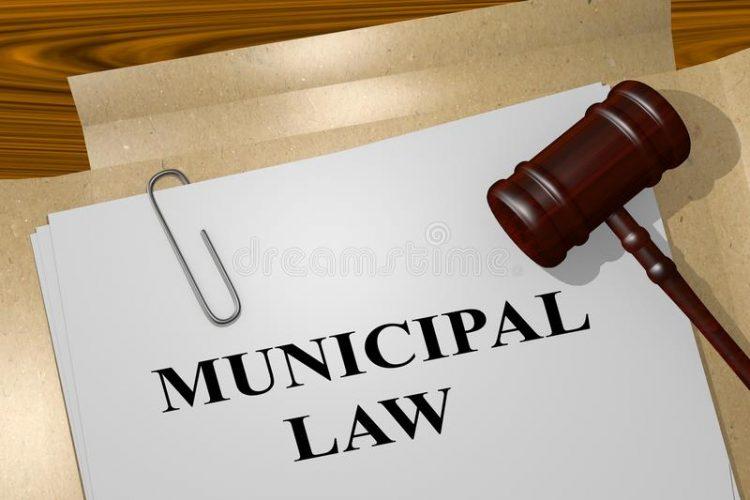 municipal-law-concept-d-illustration-title-legal-document-119928162